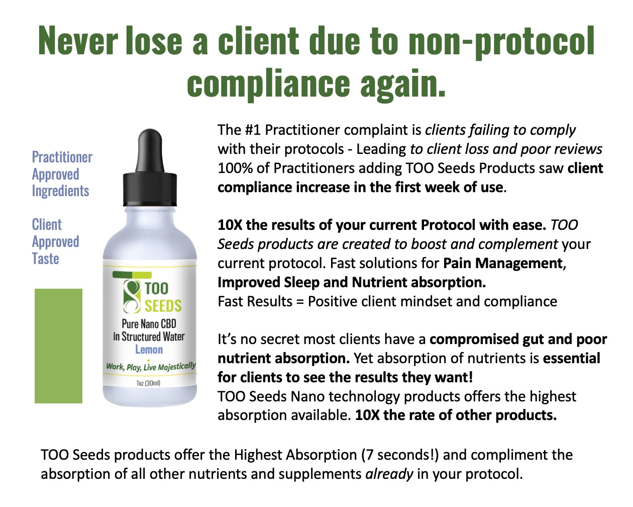 Never lose a client due to non-protocol compliance again.