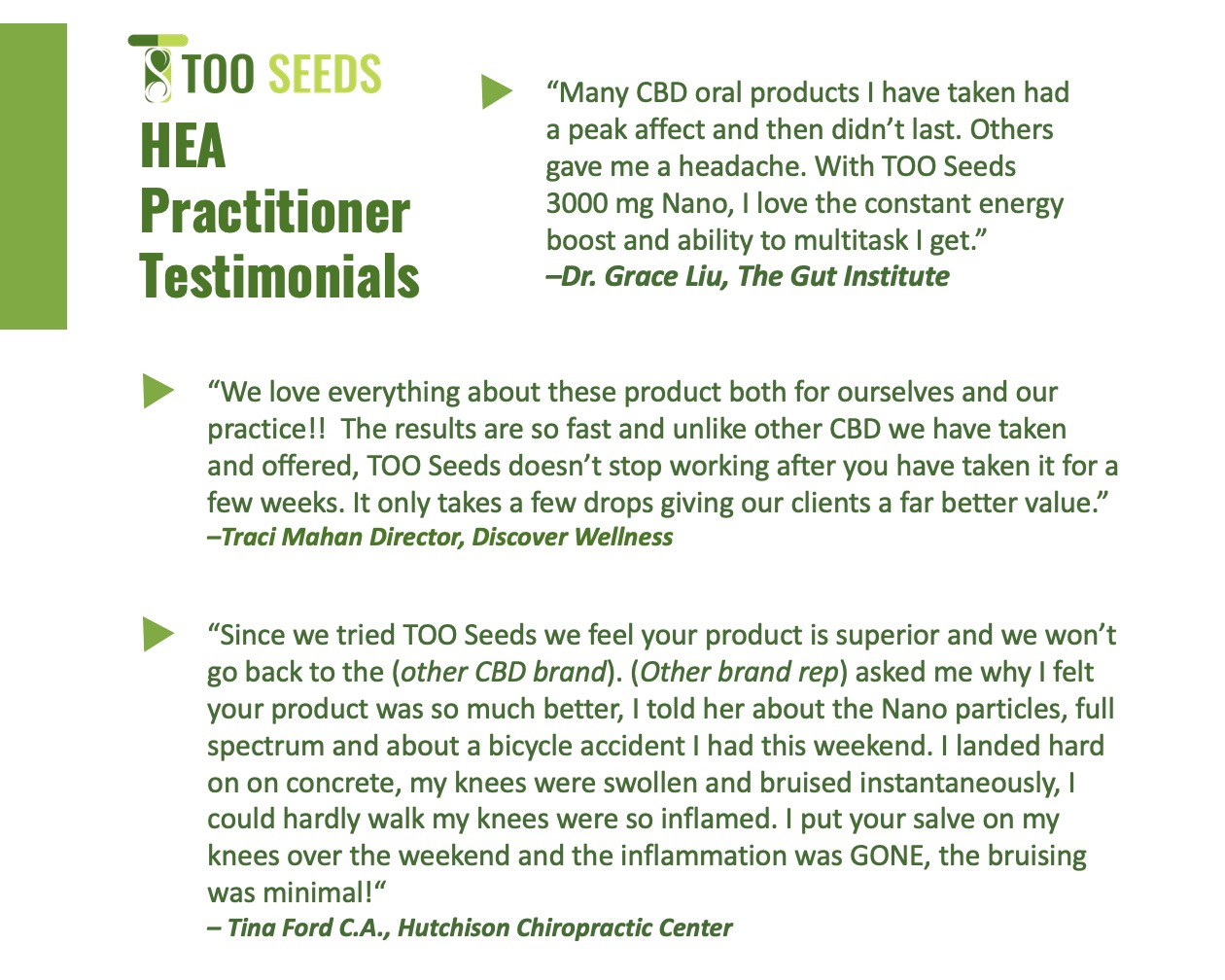 Practitioner Reviews